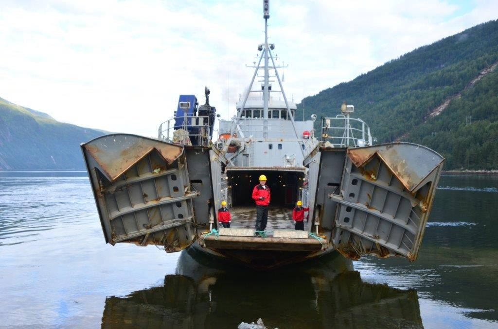 «Maursund» stakk til havs