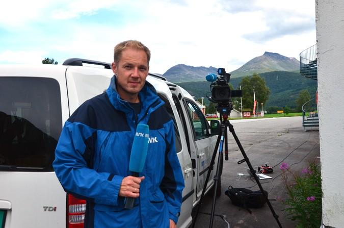 Eirik Haukenes, NRK  Foto: Jon Olav Ørsal