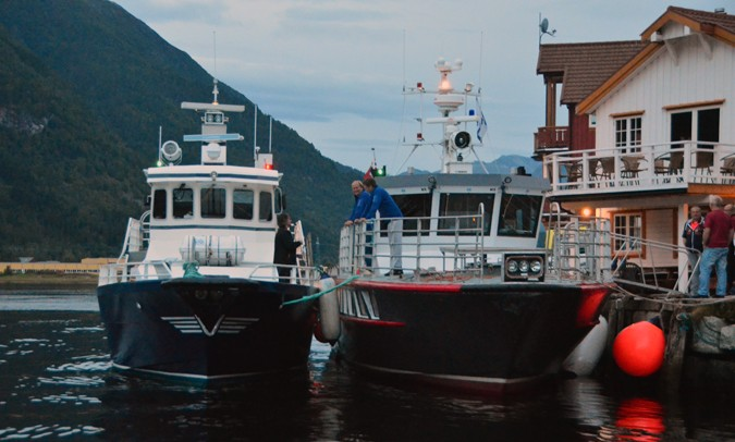 Ny båt på plass – normal rutetrafikk frå laurdag morgon