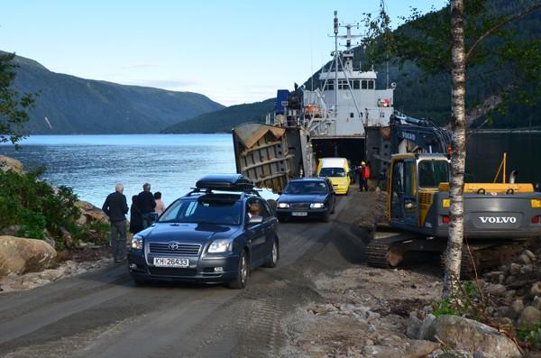 Endring i rutetidene for MS Maursund