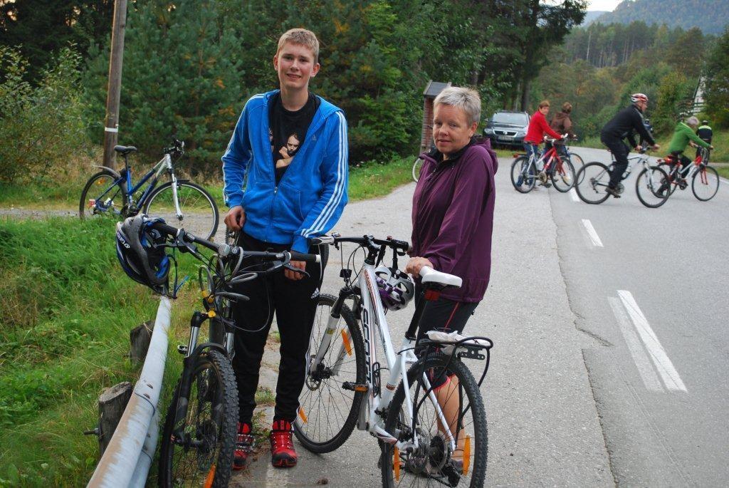 Runda  av  sykkeltrimmen  for  i  år