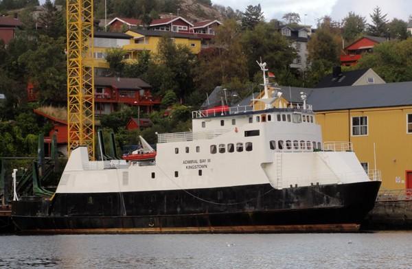 MF «Førdefjord» vart MV «Admiral Bay III»
