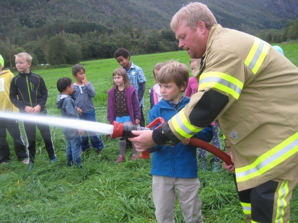 Spanande brannvernveke