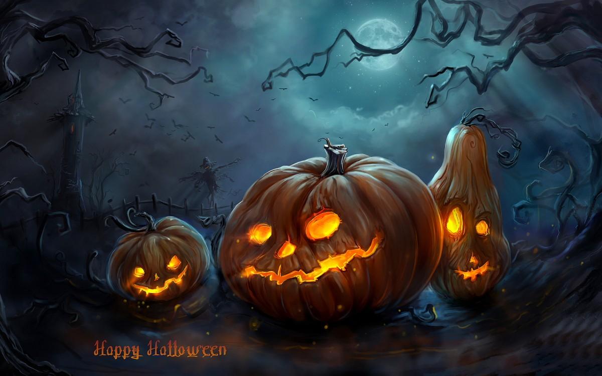 Barneklatring på Halloween