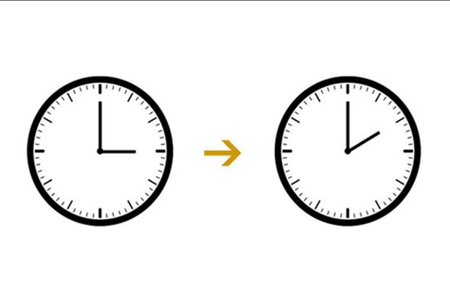 Klokka stilles ein time attover mot sommaren som var!
