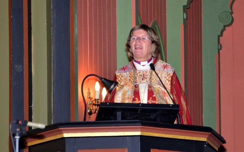 Biskop Ingeborg Nordtømme kjem på bispevisitas denne veka.  Arkivfoto: Jon Olav Ørsal