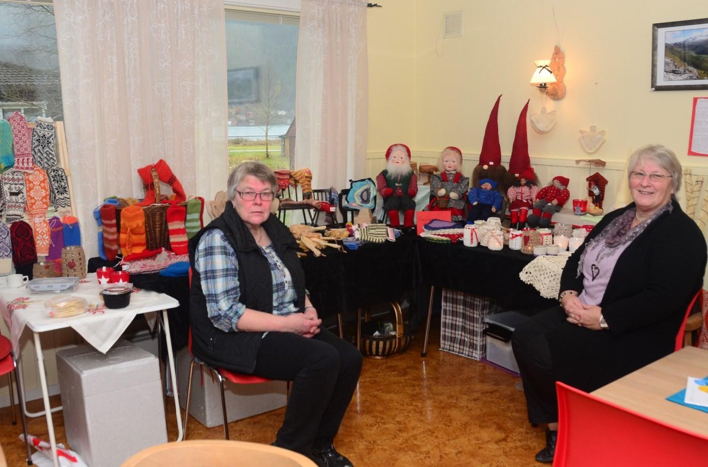 Arkivfoto frå fjorårets julemesse som var i sanitetshuset. Foto: Todalen.no