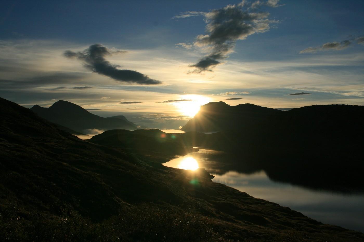 Månadens bilete: Morgenstund på Lauvåfjellet