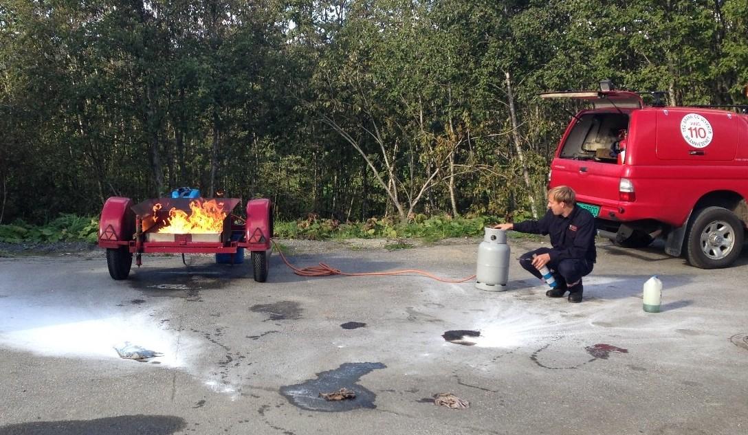 Førjulstreff  med  brannvern