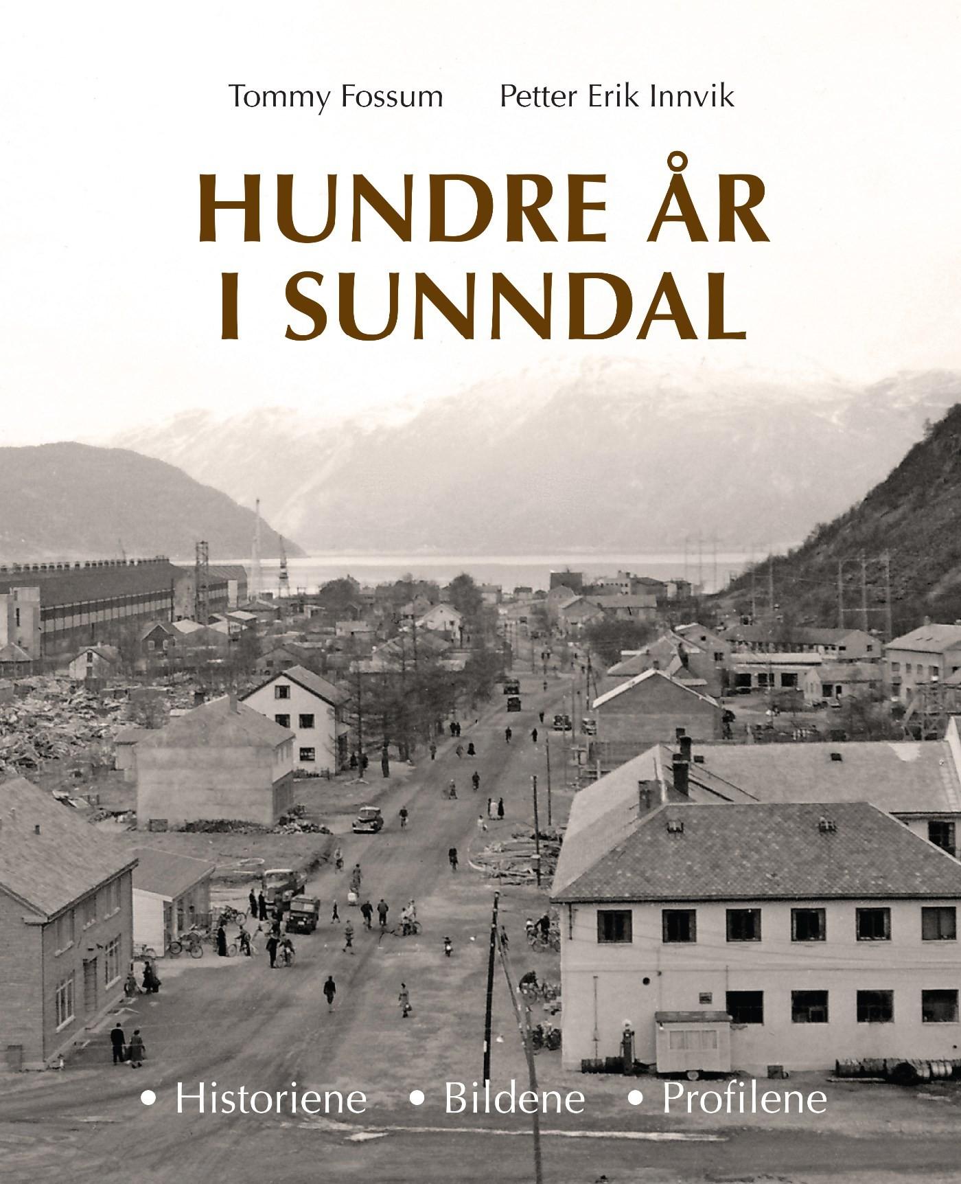 Hundre år i Sunndal_Forside