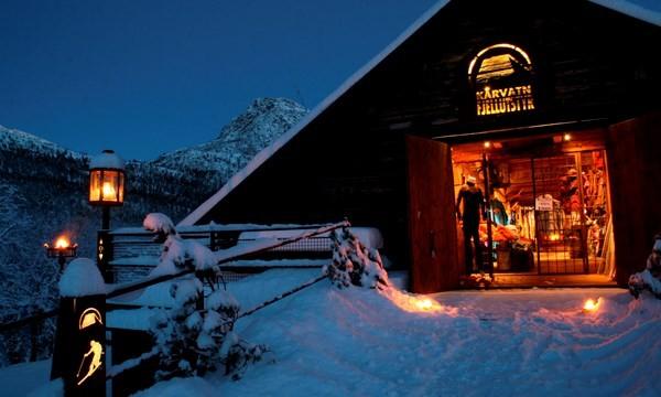 Julebutikken på Kårvatn. Foto: Gudmund Kårvatn