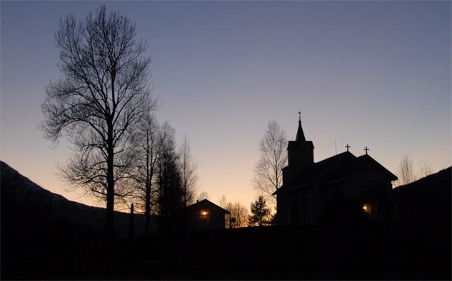 Messefall  –  gudstenesta  søndag  er  avlyst