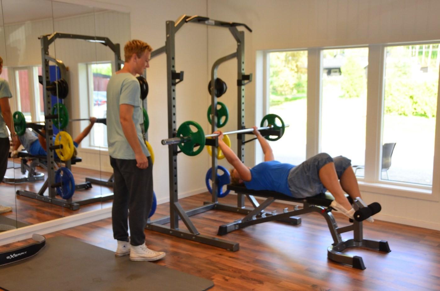 Hett og svett tilbyr både styrketrening og kondisjonstrening.  Arkivfoto: Jon Olav Ørsal