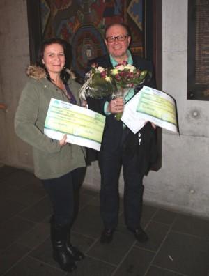 Arnhild Bergheim og Terje Nordvik