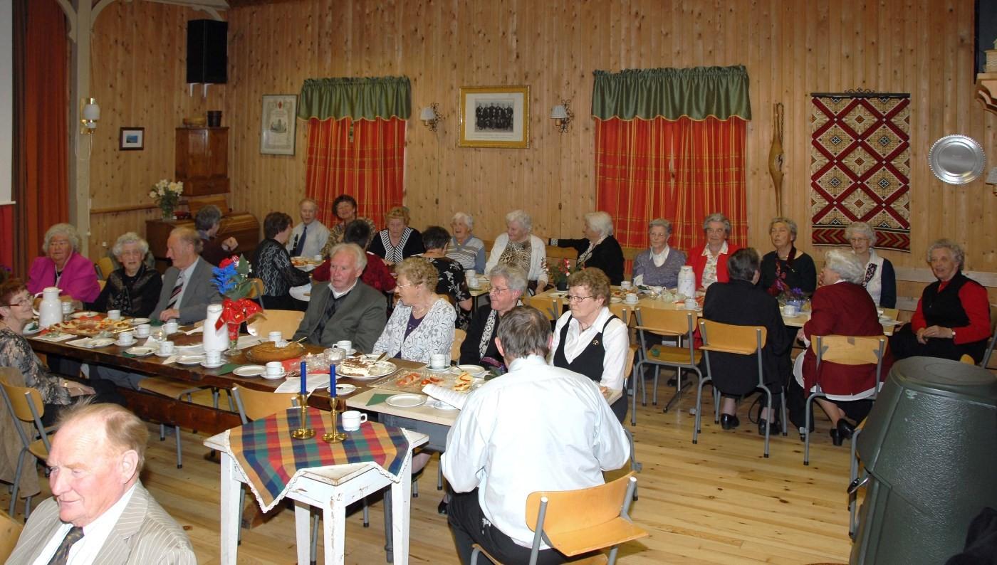 Arkivfoto: Frå tidlegare   arrangement i Surnadal pensjonistlag.