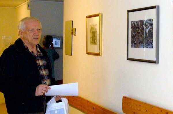 Lørdag åpner Reidar Østvik utstilling med portrettfoto i kulturhuset.  Arkivfoto: Jon Olav Ørsal