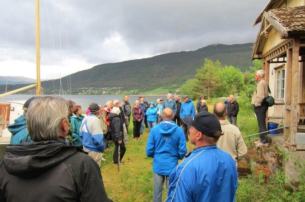 Kulturvandring til Vågagreda i Ålvundfjorden - Nils Ulvund var
