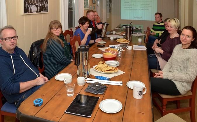 Årsmøtet i Todalen.no gikk greit unna og styret fikk fornya tillit.  Foto: Jon Olav Ørsal