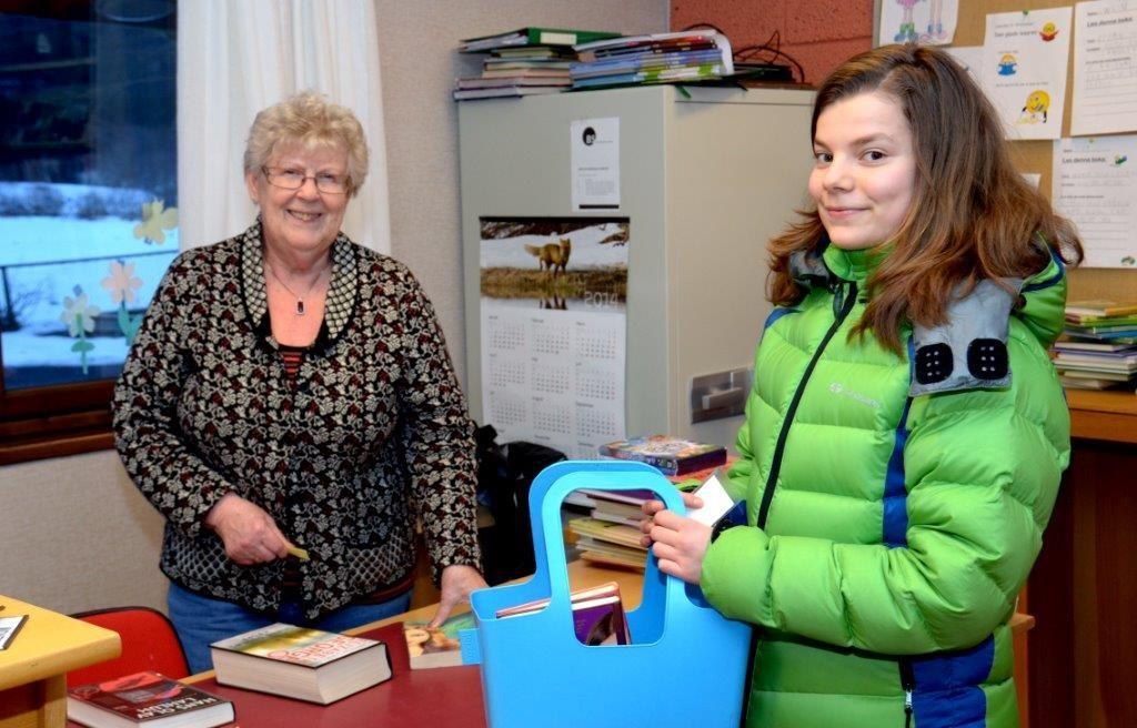 Karen Johanne Talgø og Linde Volcke.  Foto: Jon Olav Ørsal