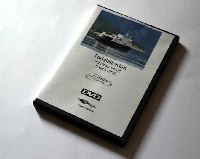 DVD med Todalsfjorden minutt for minutt er no i salg.