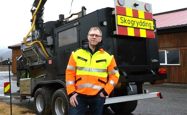 Palmer Vikan er ny ledar i Skog-Kompaniet frå 1. mars.  Foto: Jon Olav Ørsal