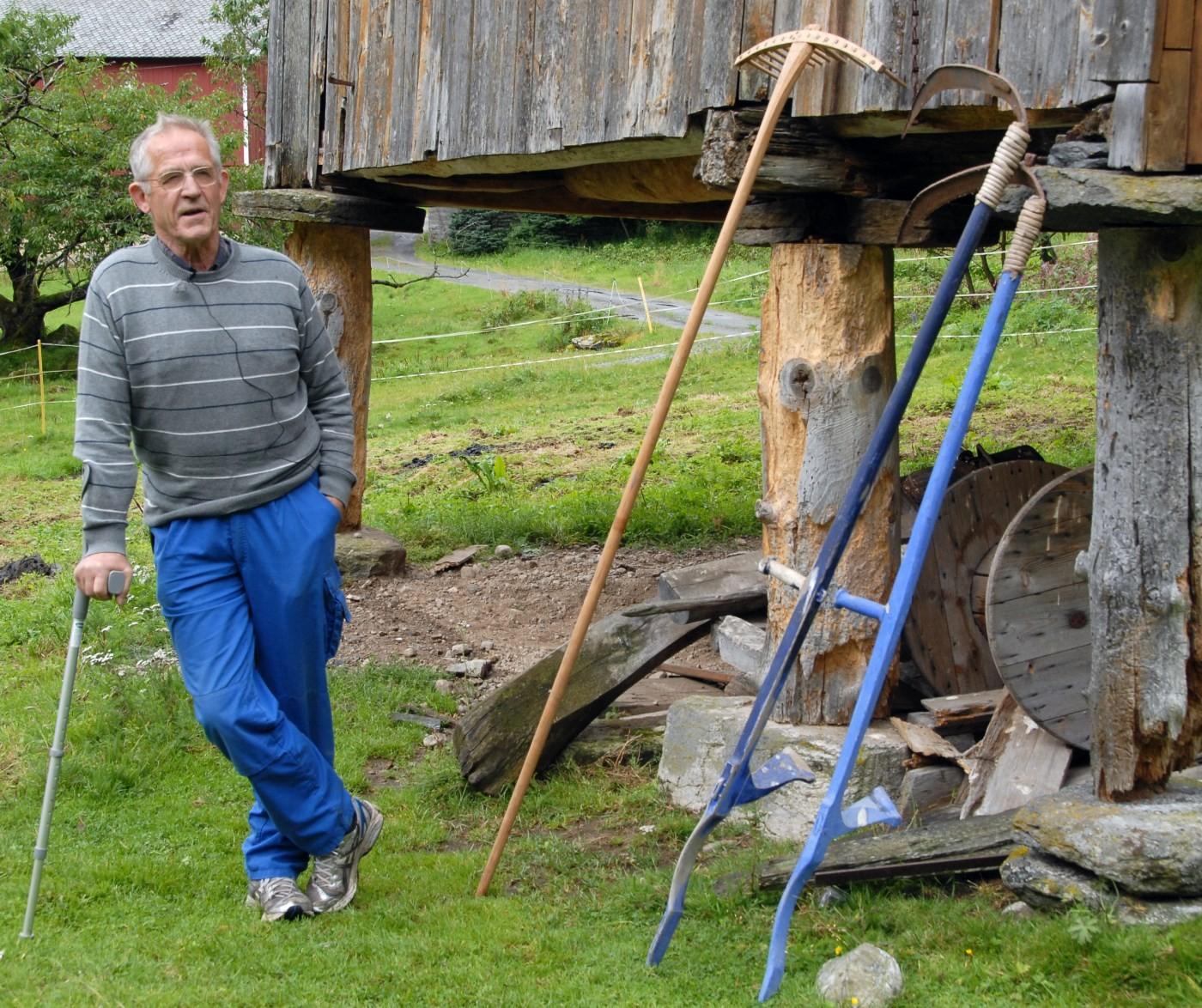 Jon Bojer godal kjem til Todalen søndag.  Arkivfoto: Jon Olav Ørsal