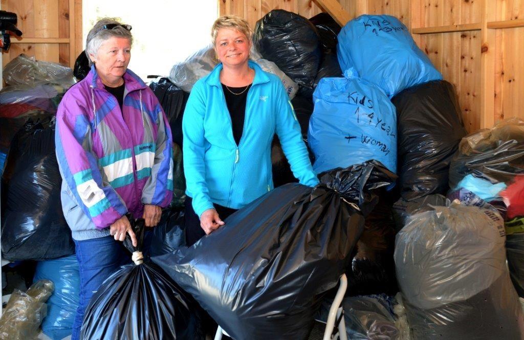 Synnøve H. Talgø og Kristine S. Ulvund hadde fullt opp i