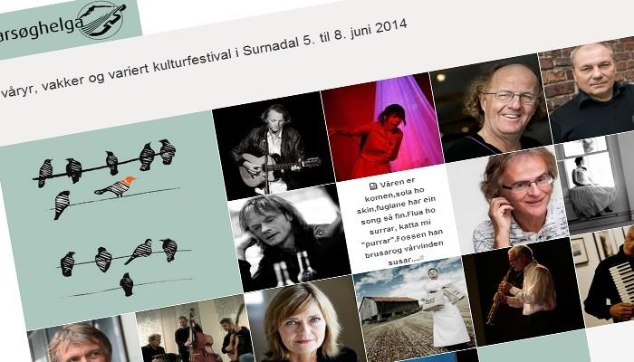 Vårsøghelga- Surnadal sin kulturfestival