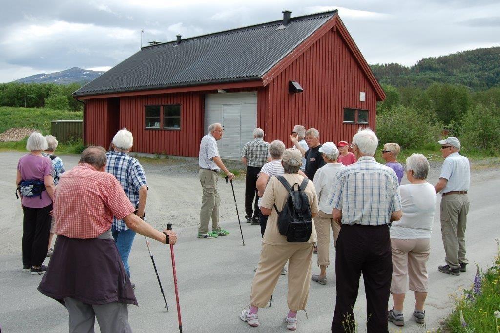Her i Røtet ligg silanlegget til den kommunale kloakken i Surnadal.  Foto: Vidar Sogge