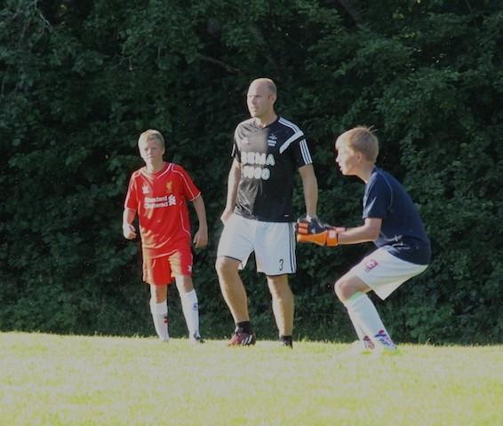 Med Dorsin i oppkjøringa mot Norway Cup