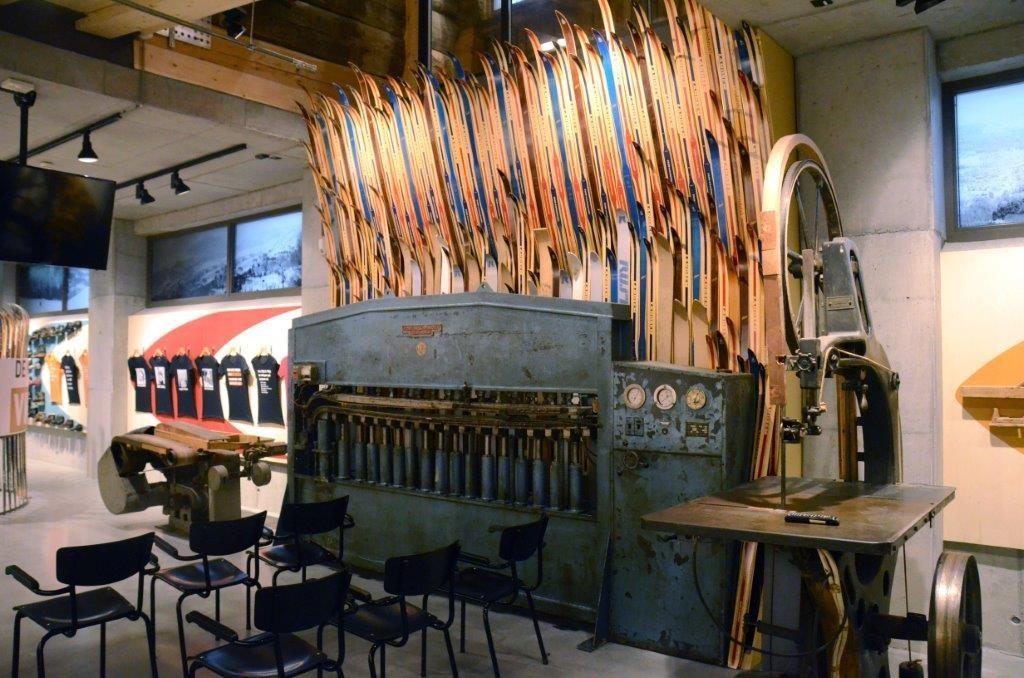 Rindalingane har mykje skihistorie å by på i det nye skimuseet.  Foto: Jon Olav Ørsal