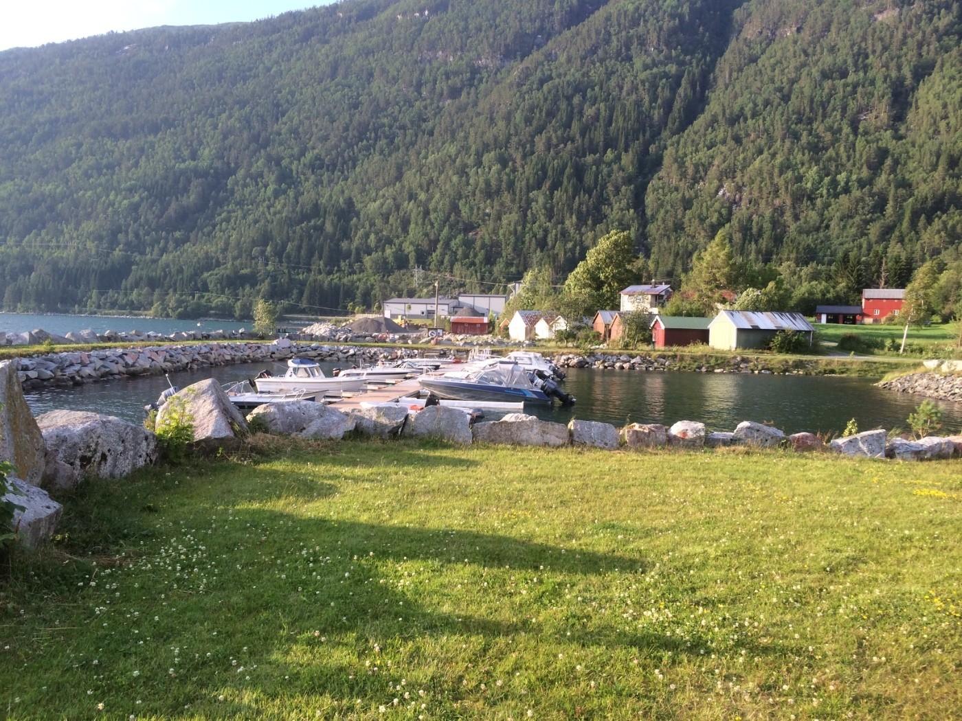 Båthamna i Todalen - arkivfoto Todalen.no
