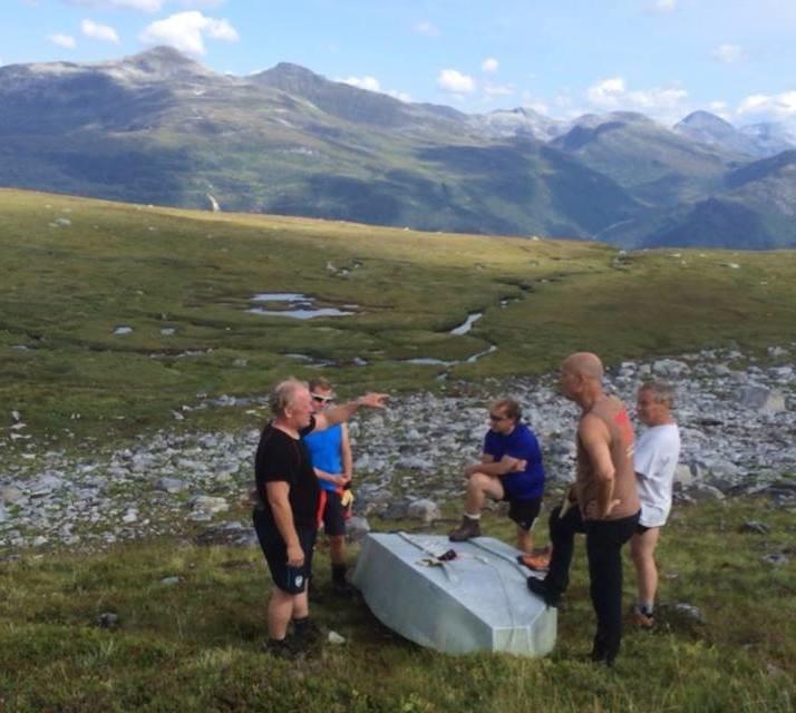 Båten på Vassnebbvatnet er på plass igjen