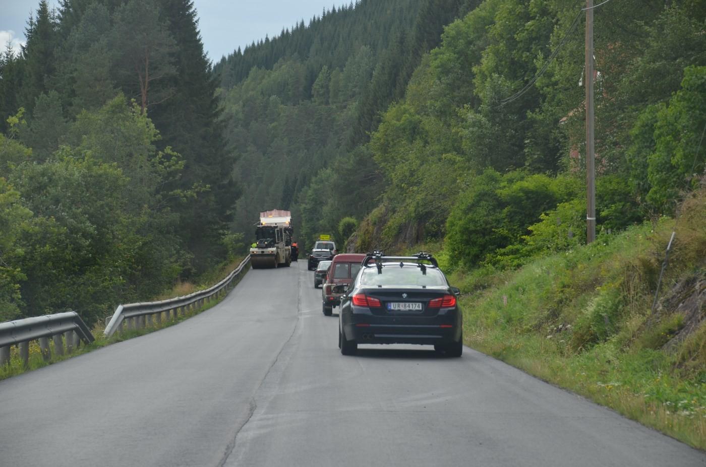 Det må påreknast litt ventetid i Bæverfjorden dei næraste dagane.   Foto: Jon Olav Ørsal