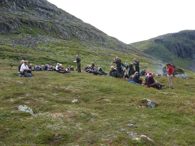her er det pause ved Vardan - arkivbilde frå 2008.  Foto: Jon Olav Ørsal