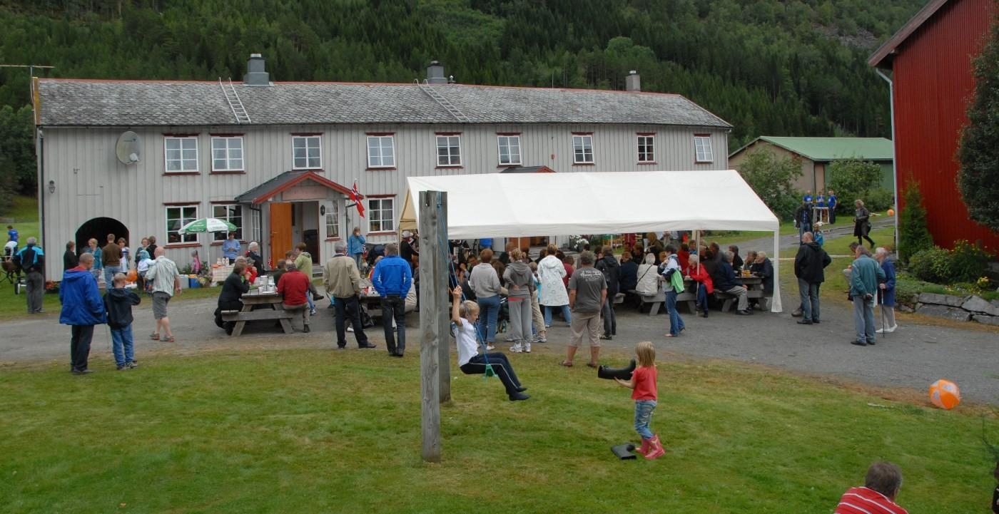 I 2008 var det open gard i Viastua i samband med TILs 100-årsjubileum.  Arkivfoto: Jon Olav Ørsal