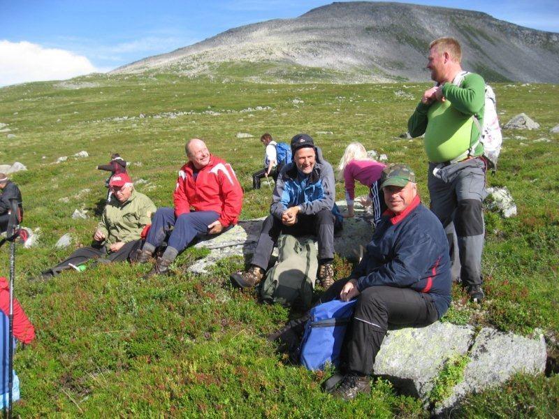 Frå Trollheimsmarsjen 2010 - pause ved Vardan! Arkivfoto: Jon Olav Ørsal