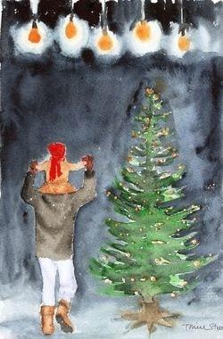 Julegrantenning i Todalen