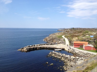 Ut mot havet i Kvernevik