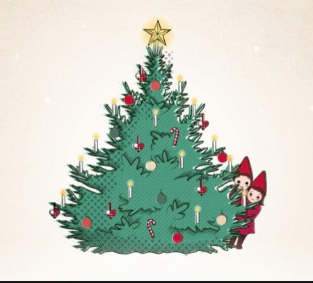 Julegrantenning og juletorg