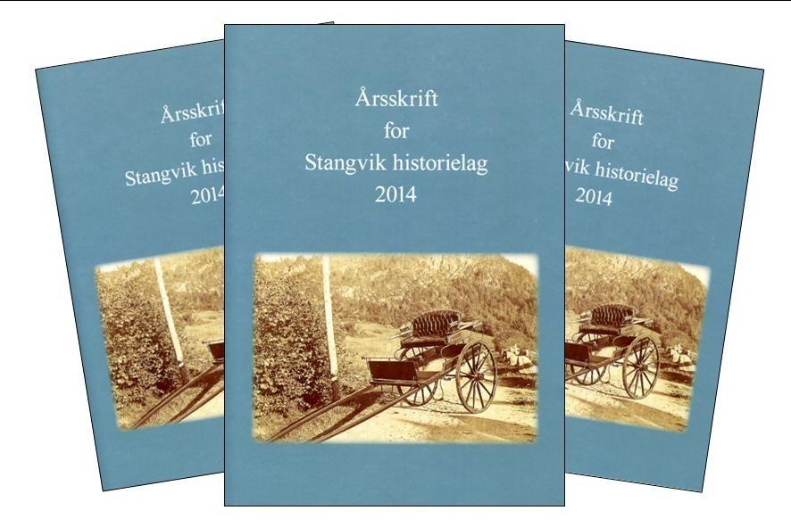 Stangvik historielags årsskrift for 2014 har 60 sider med interessant stoff å by på.