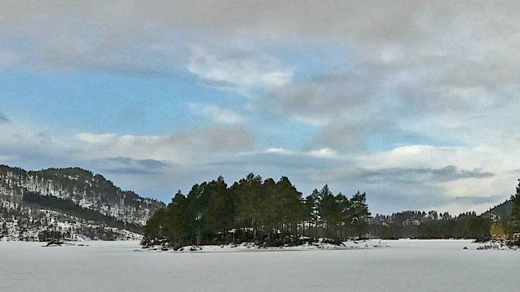 denne helga går søndagsturen til Kaldbergsvatnet på Halsa.