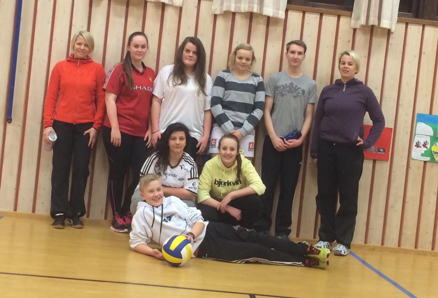 Volleyballen med ny tid!!