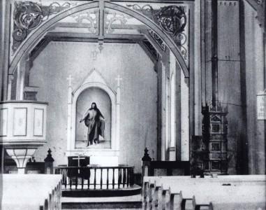 18 Interior Todalen kyrkje