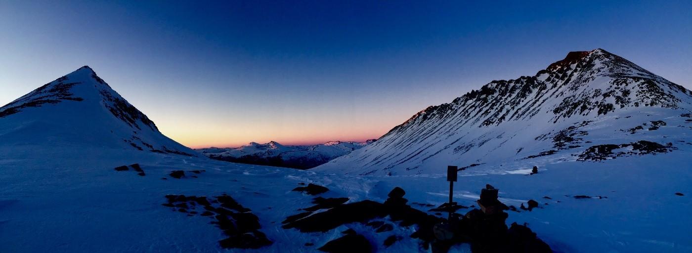 Frå Bjøråskaret mot Todalen. Foto Kristian Mossing