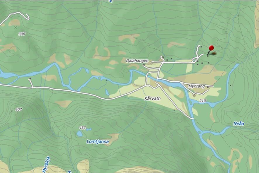 KartKårvatn_Hyttesalg