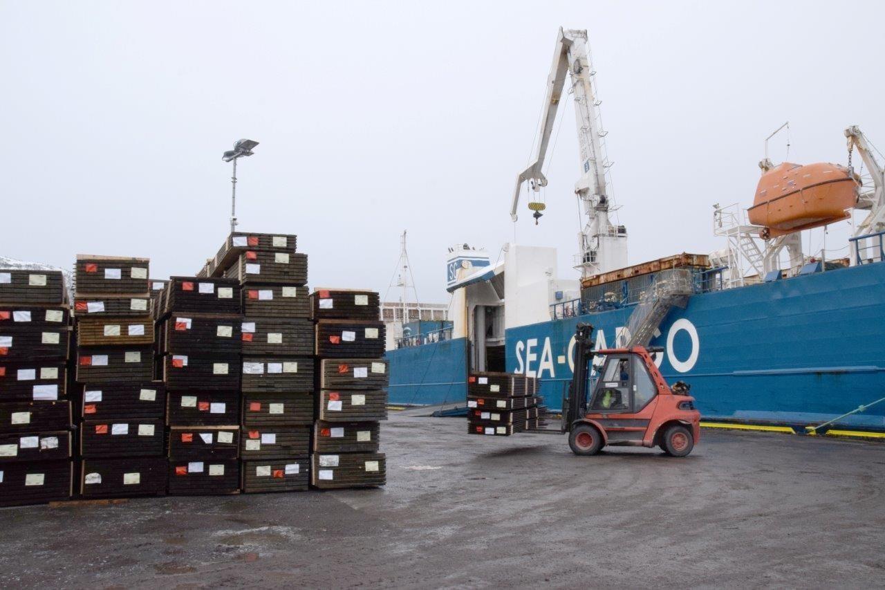 Premiere for sjøvegs transport til Vestlandet