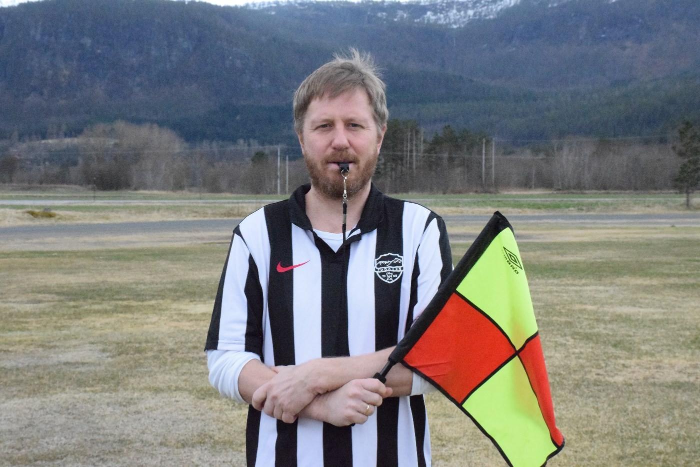 Ta kontakt med Knut Bergli dersom du har lyst til å bli dommar.  Foto: Jon Olav Ørsal