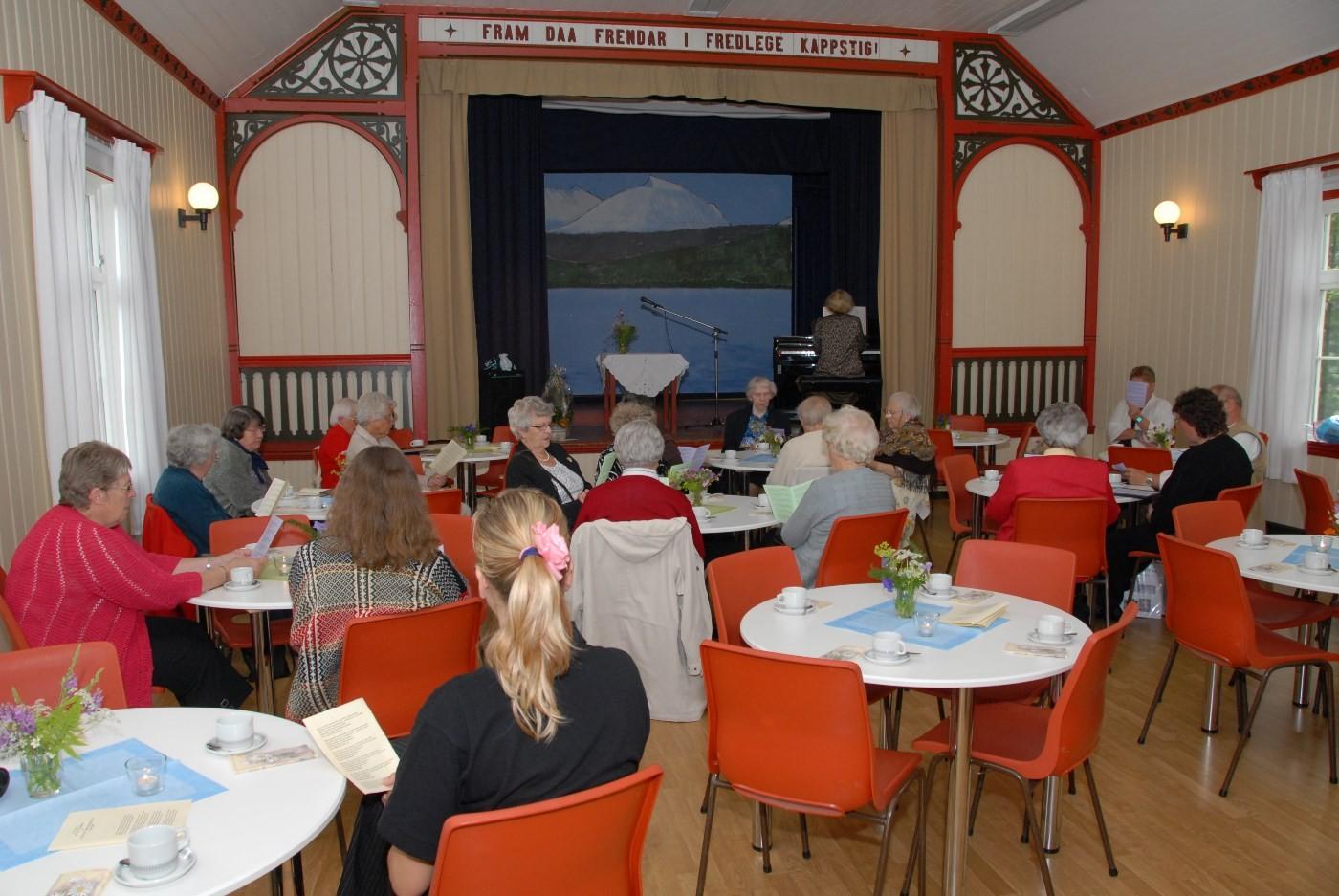 Arkivbilete frå ei tilstelning laget hadde i Ungdomshuset i 2009. Foto: Jon Olav Ørsal