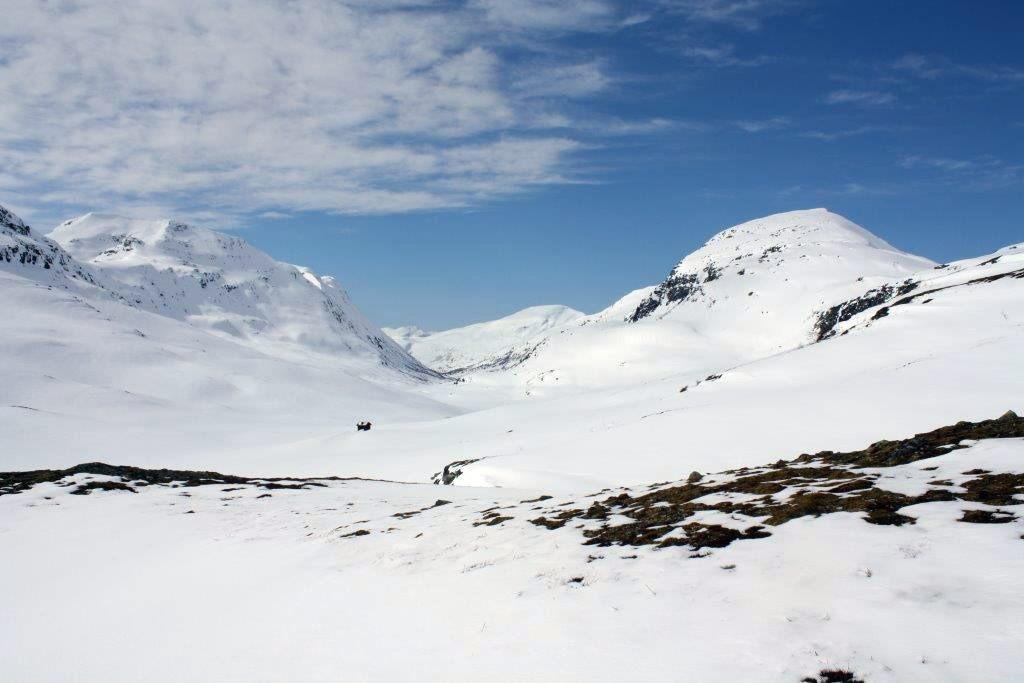 Frå Fagerlidale, med Romådalen i sikte.  Foto: Odd Harald Talgø